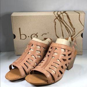 [183] B.o.c. 9 M Pink Dixie Pink Slingback Sandals